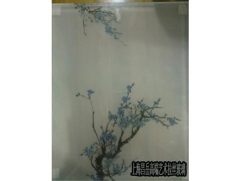 上海简约现代拉丝玻璃