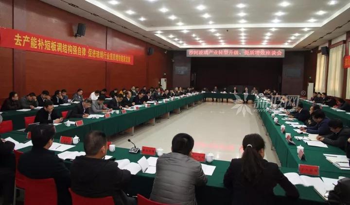 中国建材联合会会长乔龙德沙河考察调研玻璃产业