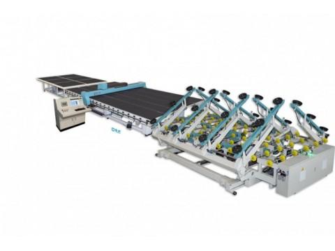 安徽全自动玻璃切割流水线   蓝桥玻璃机械