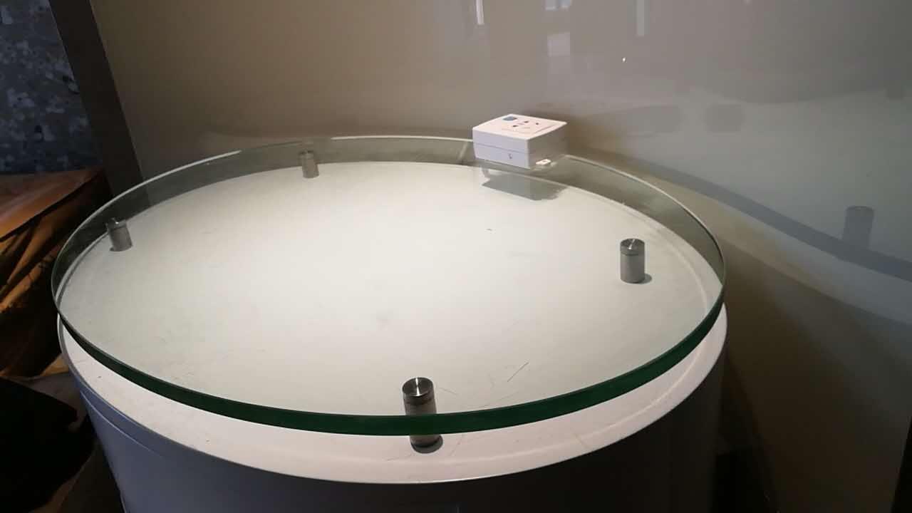 茶玻钢化圆边件