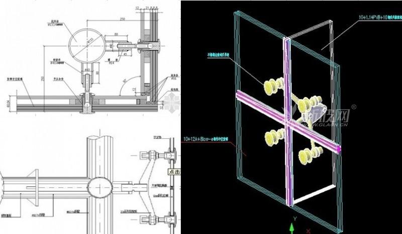 点爪式玻璃幕墙开启窗的设计与施工