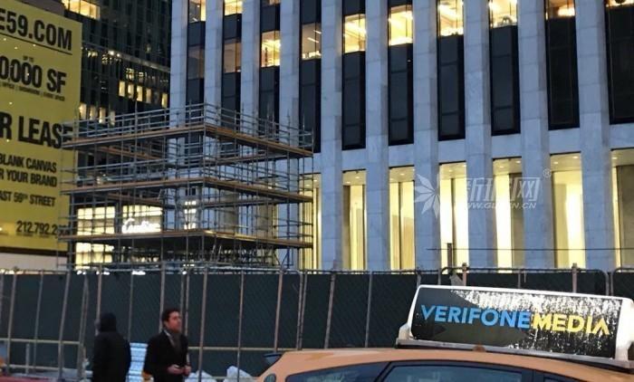 """苹果纽约第五大道直营店""""玻璃立方体""""入口将重建"""