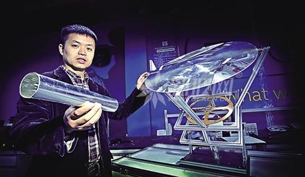"""管道""""引""""阳光进屋 重庆造智能光导照明系统将上市"""