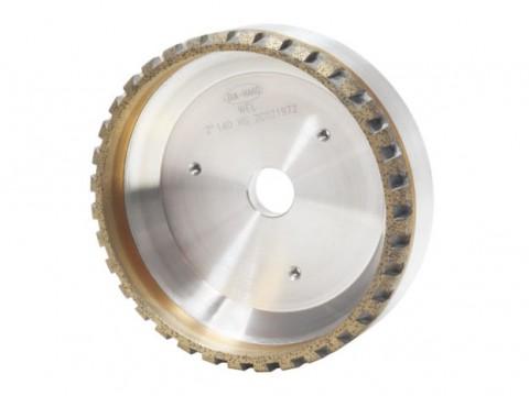 佛山金刚轮  X001 进口斜边机金刚轮  华智源玻璃机械