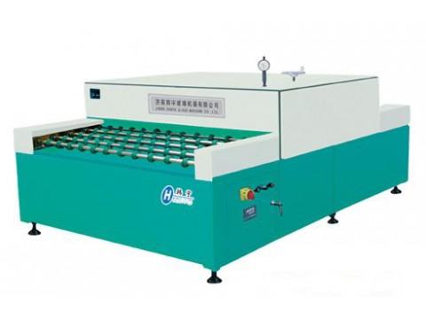 韩宇玻璃机器 卧式合片热压机