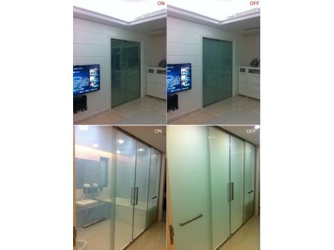 广州调光玻璃厂家直购,智能调光玻璃  华惠材料科技