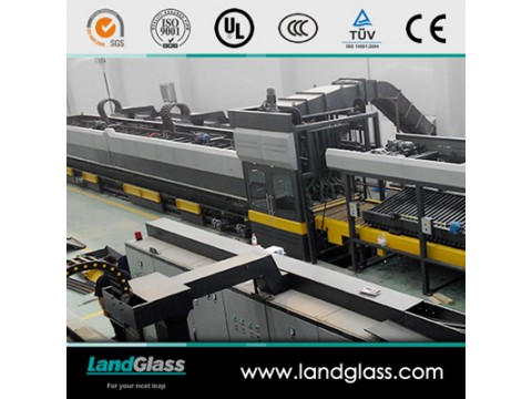 汽车天窗玻璃钢化炉|兰迪玻璃钢化设备