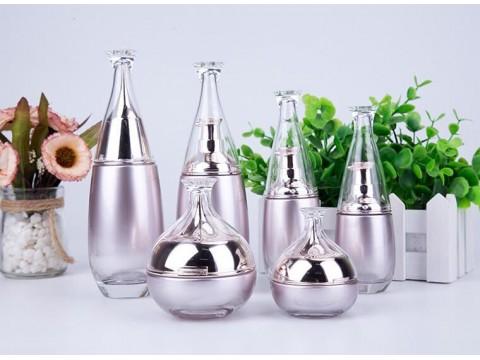 广州化妆品包装容器 化妆品瓶子容器厂家 乐鑫玻璃化妆品瓶子定制