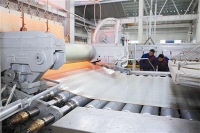 澄城日产2×300T光伏玻璃生产线项目蓄势待发