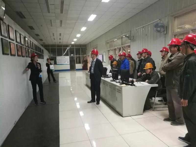 江苏省硅酸盐学会组织专家学者企业行活动问诊沙河玻璃工业