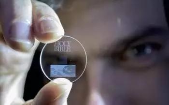 采用纳米玻璃开发的5D数字数据存储 数据可存数十亿年