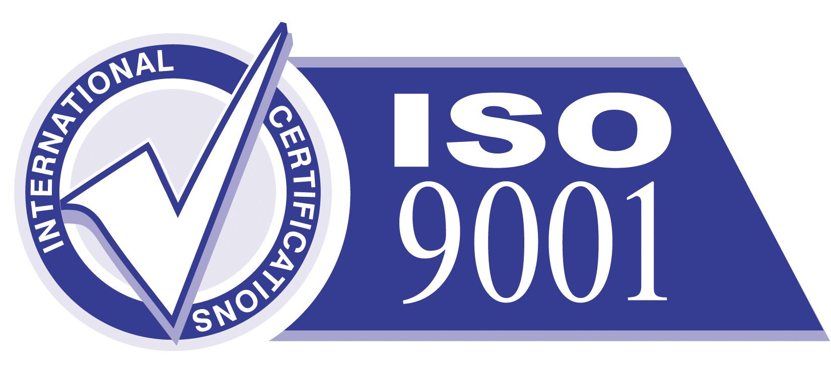 宏伟玻璃获得ISO9001认证证书和ISO14001认证证书