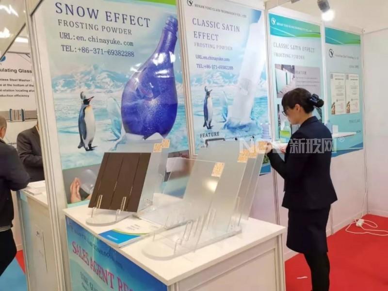 豫科玻璃携新产品技术亮相2019年土耳其国际玻璃工业展览会
