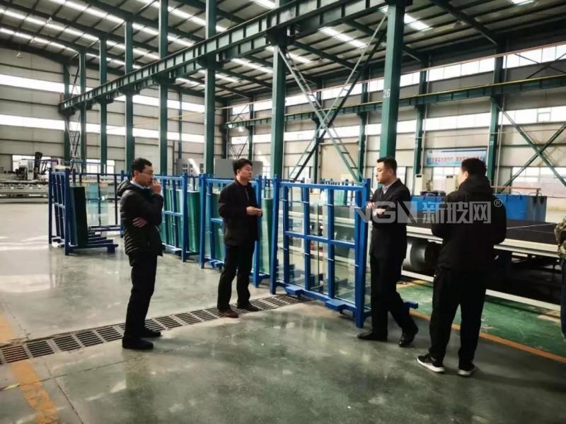 元润玻璃公司迎接永锋集团参观考察