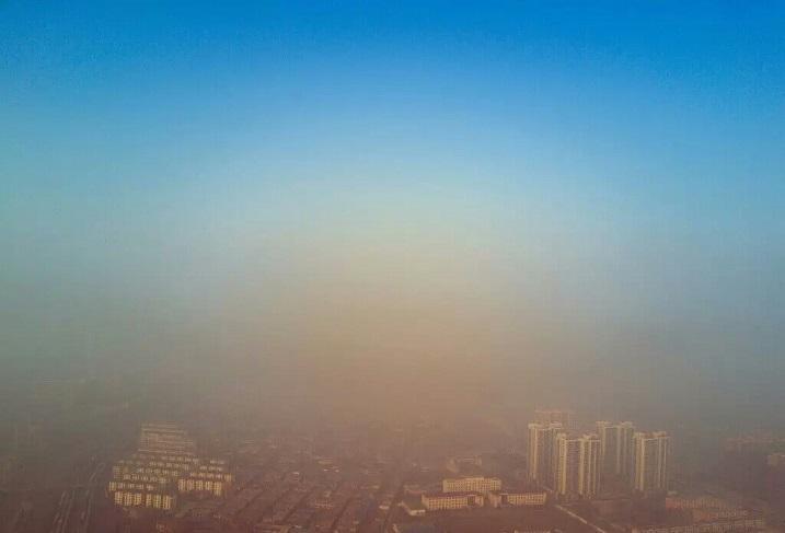 """河北省开展大气污染防治""""攻坚月""""行动"""