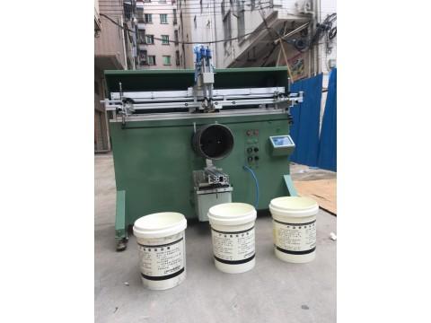 乳胶漆桶丝印机润滑油桶滚印机胶水桶丝网印刷机厂家