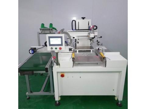 PVC面板丝印机亚克力镜片网印机电器外壳丝网印刷机