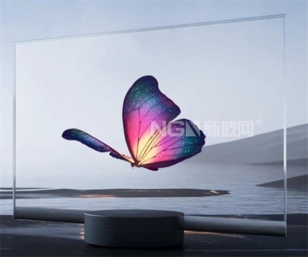 小米发布全球首款量产透明电视,悬浮OLED屏幕如普通玻璃般通透