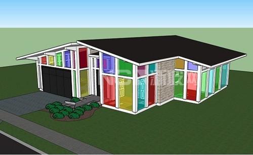 莱斯大学的工程师设计并建造了玻璃窗 可实现内在发电