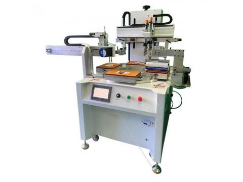 石家庄市化妆镜丝印机电子称丝网印刷机平面镜网印机