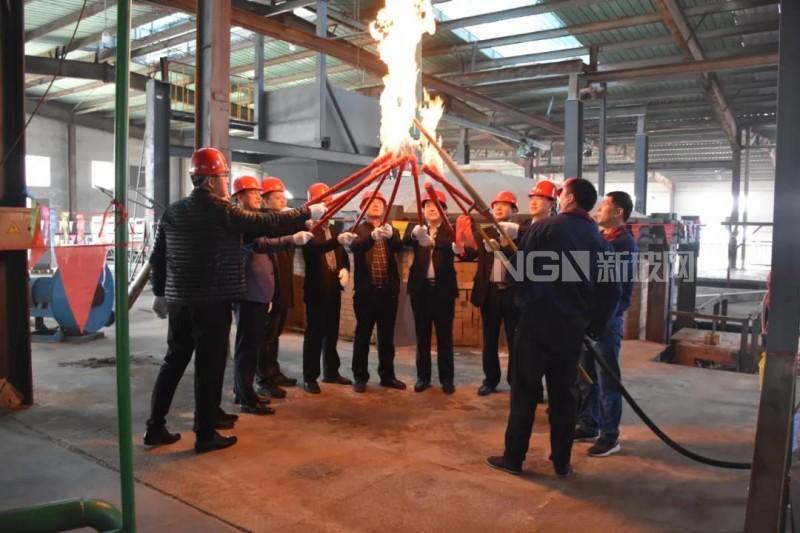 产能再创新高,龙光天旭12号高硼硅玻璃窑炉点火成功