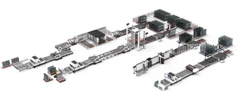 北玻助力望美实业开启玻璃深加工智能化工厂