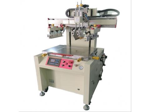 邯郸市钢板丝印机铝板丝网印刷机铁板网印机