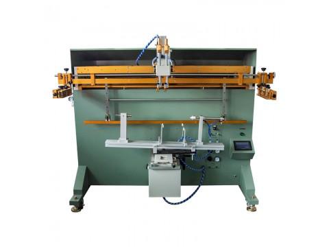 廊坊市油漆桶丝印机润滑油桶丝网印刷机纸板桶滚印机