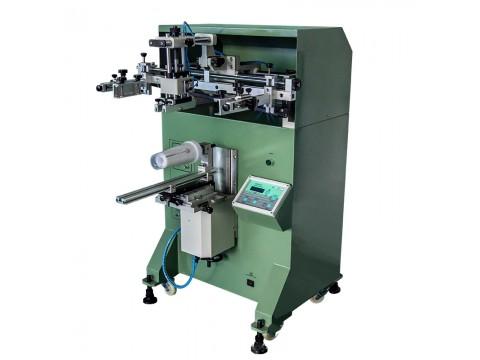 信阳市玻璃水壶丝印机玻璃瓶丝网印刷机啤酒瓶滚印机