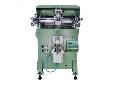 台州市玻璃花瓶丝印机玻璃水杯丝网印刷机透明水壶滚印机