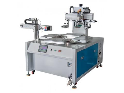 蚌埠市茶几玻璃丝印机电视柜玻璃丝网印刷机玻璃桌面网印机