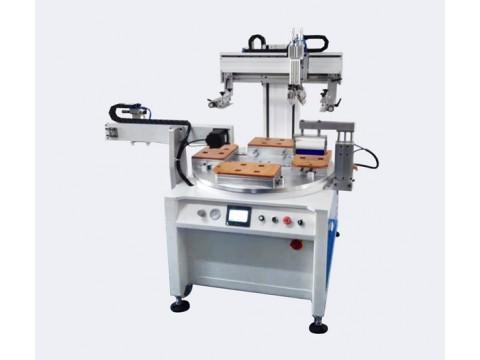 秦皇岛市音响面板丝印机电磁炉面板丝网印刷机灯具玻璃网印机