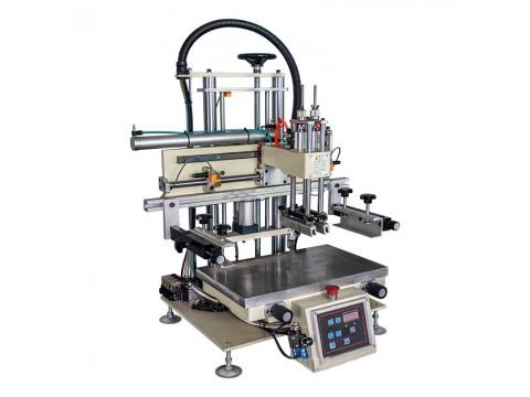驻马店市玻璃盒丝印机包装盒丝网印刷机礼品盒网印机