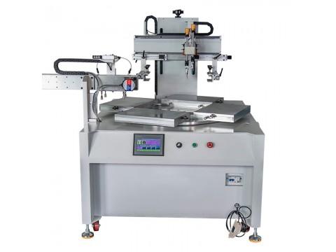 玻璃胶水丝印机玻璃桌面丝网印刷机亚克力玻璃全自动转盘印刷机